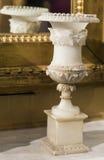 Antik marmorvas Arkivfoton
