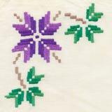 antik needlepoint Arkivbilder