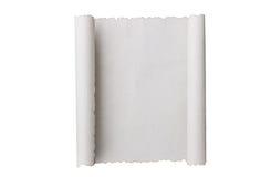 antik paper scroll Arkivbild