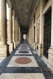 Antik passage i Rome, Italien arkivfoton