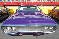 Antik Plymouth bil Fotografering för Bildbyråer