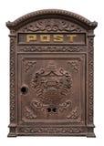 antik postbox Arkivfoton