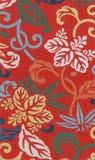 Antik röd Silk Royaltyfri Bild