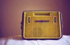 antik radio Royaltyfri Fotografi