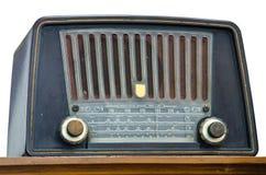 Antik radio Royaltyfri Bild