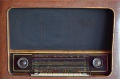 Antik radio Royaltyfria Bilder