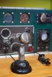 Antik radiouppsättning Royaltyfri Bild
