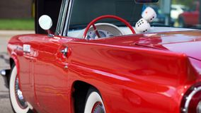 antik red för biltillståndsmint Fotografering för Bildbyråer