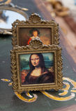 Mona lisa stående Arkivfoton
