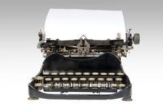 antik retro skrivmaskin Arkivbilder
