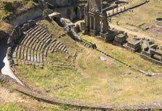 Antik roman amfiteater i Volterra Royaltyfri Bild