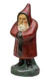 Antik Santa Claus figurine Royaltyfri Bild
