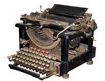 antik skrivmaskin Royaltyfri Fotografi
