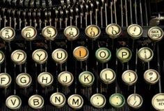 antik skrivmaskin Fotografering för Bildbyråer