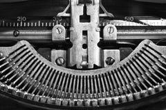 Antik skrivmaskin IX Arkivfoton