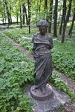 Antik skulptur parkerar arkivfoton