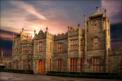 Antik slott Royaltyfri Foto