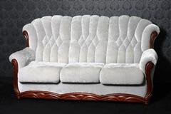 antik sofa Royaltyfri Foto