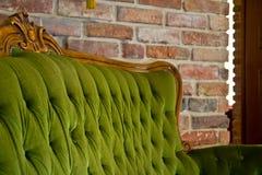 antik sofa Fotografering för Bildbyråer