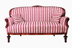 Antik soffa arkivbilder