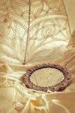 antik spegel Royaltyfria Bilder