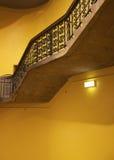 antik stairwell Royaltyfria Bilder