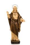 Antik staty av jesus christ Royaltyfri Foto