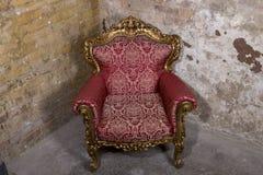 antik stol Royaltyfria Bilder