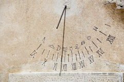 antik sundial Royaltyfria Foton