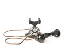 antik telefon Arkivbild