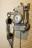 antik telefon Royaltyfri Foto