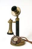 antik telefon Arkivbilder