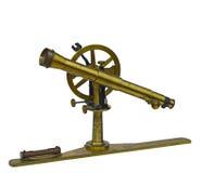 antik teleskopisk instrumentmätning arkivbild