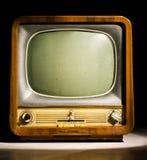 antik television Arkivfoton