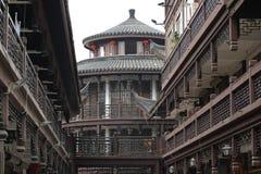antik town wuxi Arkivfoto