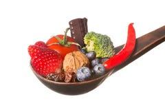 Spoonful av antioxidants Arkivbild