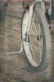 antik trehjuling Arkivbilder