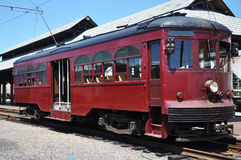 antik trolley royaltyfri fotografi
