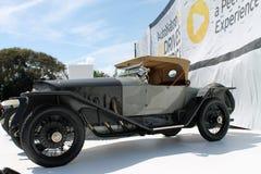 Antik tysk racerbil Royaltyfri Bild