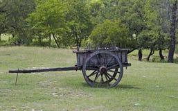 antik vagn Arkivbild