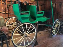 antik vagn Royaltyfri Bild