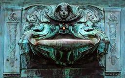 Antik vattenspringbrunn Fotografering för Bildbyråer