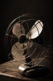 antik ventilator Arkivfoto
