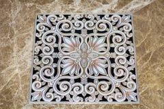antika arabiska golvtegelplattor Arkivfoton
