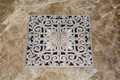 antika arabiska golvtegelplattor Arkivfoto