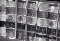 antika böcker Arkivfoton