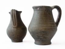 antika behållare Arkivfoto