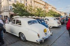 Antika bilar Royaltyfri Bild