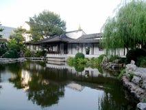 Antika byggnader längs den Qinhuaihe floden Royaltyfria Bilder