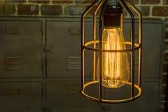 Antika Edison Light Bulbs Royaltyfri Foto